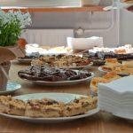 Im Café Babette wurde köstlicher Kaffee und Kuchen serviert