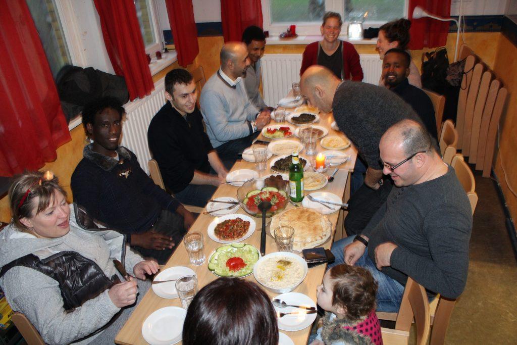 HausDrei Café Welcome Geflüchtete Altona