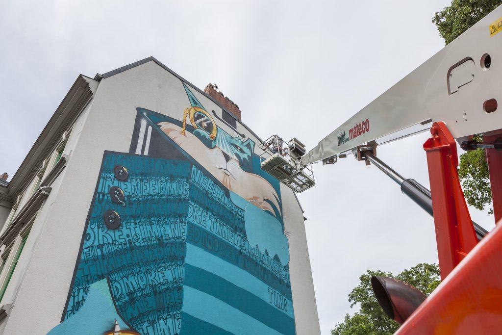 Zipper & the Double B at STAMP Festival Hamburg-Altona   2016   Courtesy: STAMP Festival / getting-up / altonale   Photo: getting-up