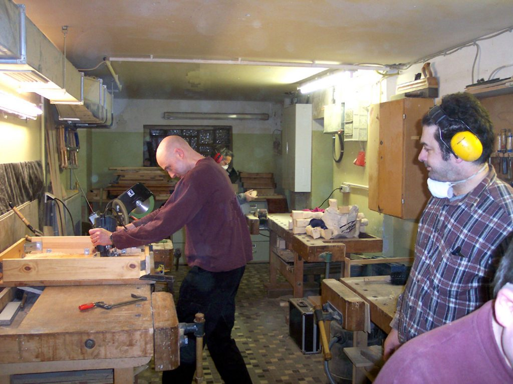 Holzwerkstatt HausDrei offene Werkstätten