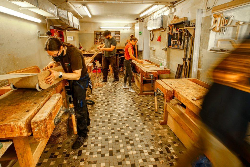 Die Holzwerkstatt im HausDrei - offen für jeden!