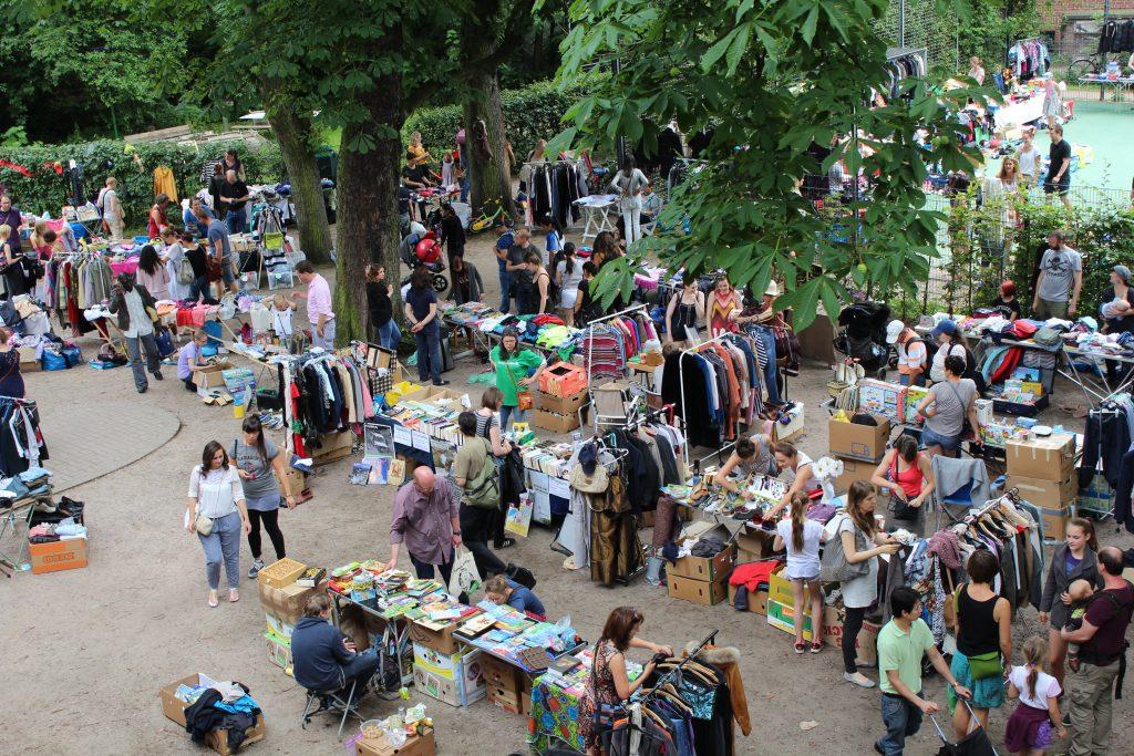 Flohmarkt HausDrei Altona
