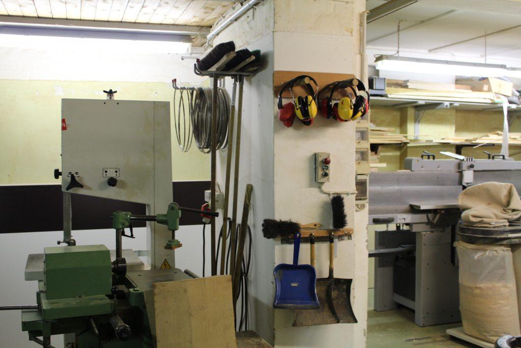 Machinenraum offene Werkstätten Altona
