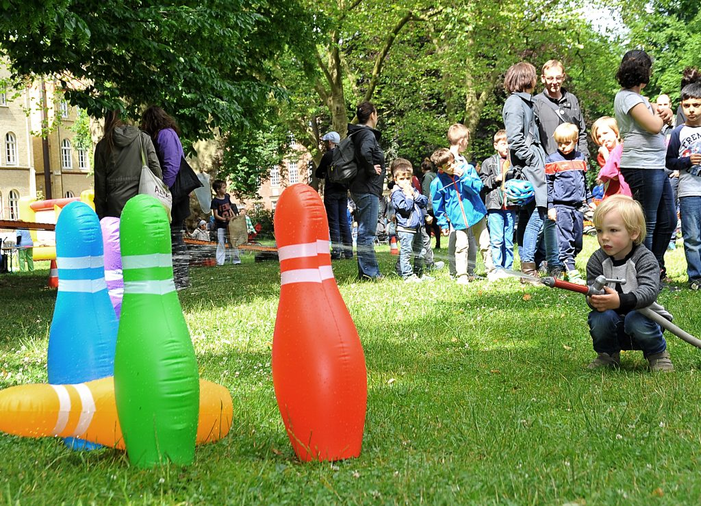 Kinderfest Nachbarschaftsfest HausDrei Altona August-Lütgens-Park