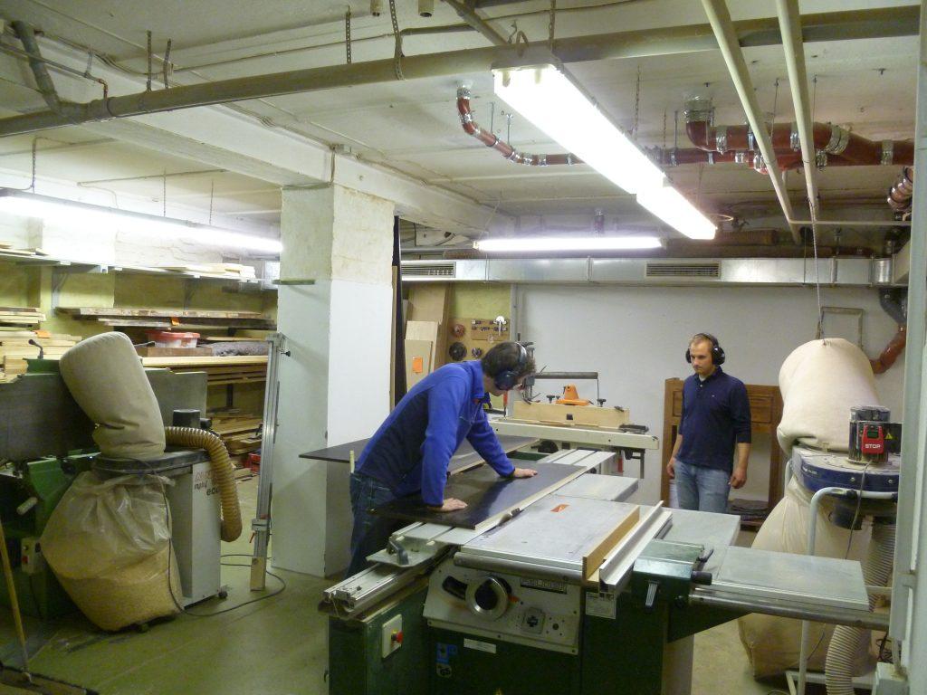 HausDrei Kreissäge Werkstatt