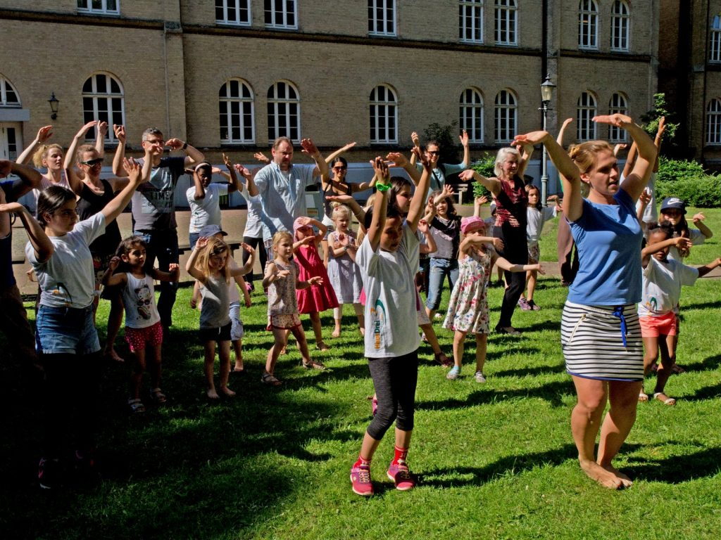 HausDreiGirls Parkfest August-Lütgens-Park