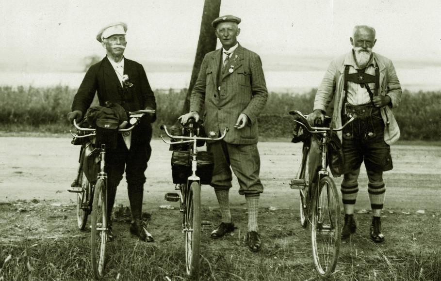 Veteranen des Wanderfahrens 1930/ ABC