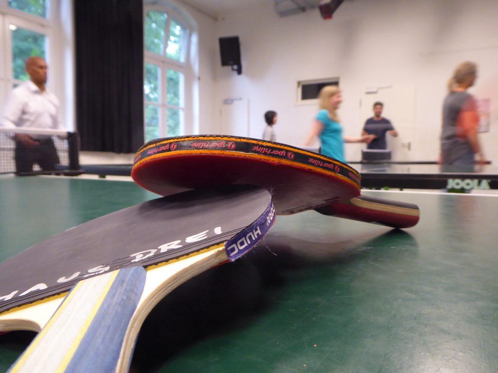 Tischtennis im HausDrei