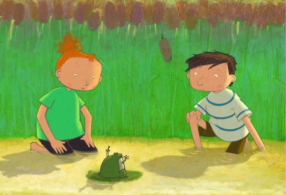Kinderkino im HausDrei: Das Geheimnis der Frösche